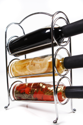 Chromed Wine Rack