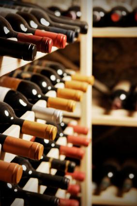 corner wine racks