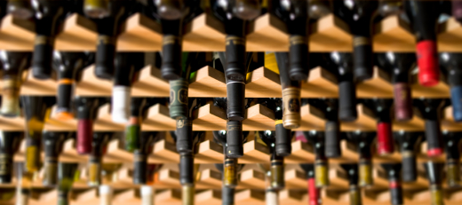 retail wine rack